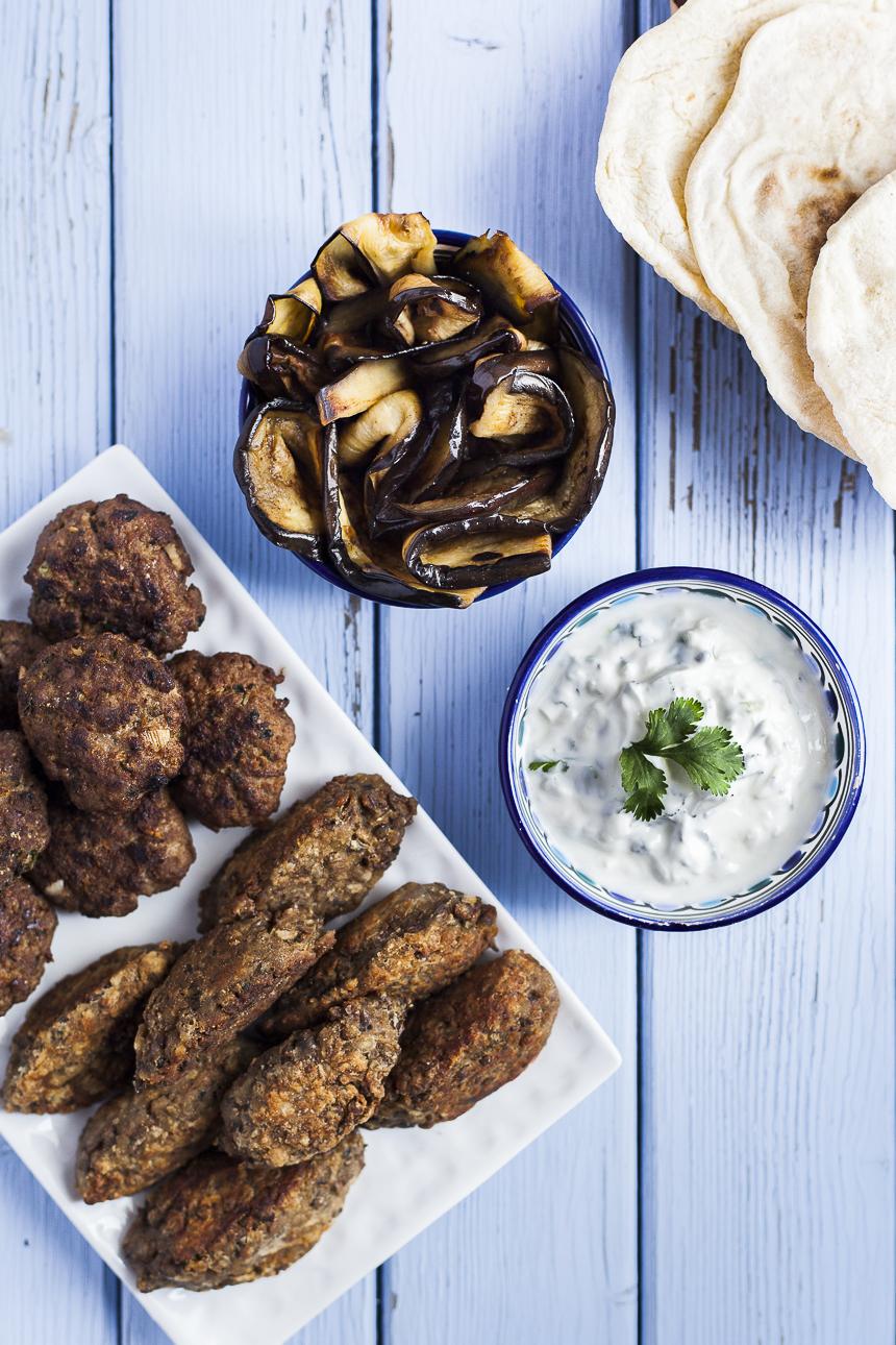 photographie culinaire mezze grec libanais plats-7
